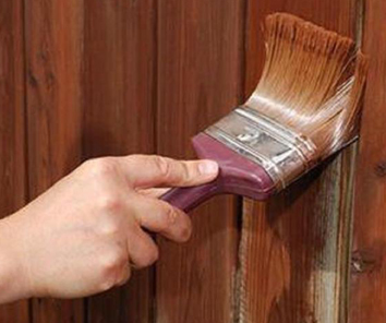 Fence Staining NRH